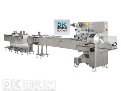 食品包装机-自动包装理料线机