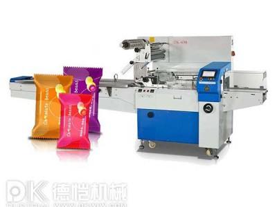 食品包装机-回转式食品自动枕式包装机